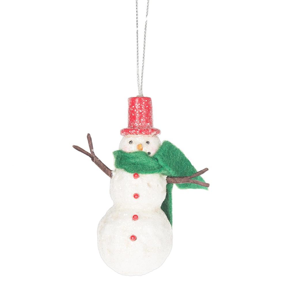 Midwest cbk snowman ornament