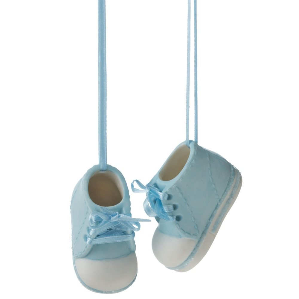 BABY BOY SHOES ORN