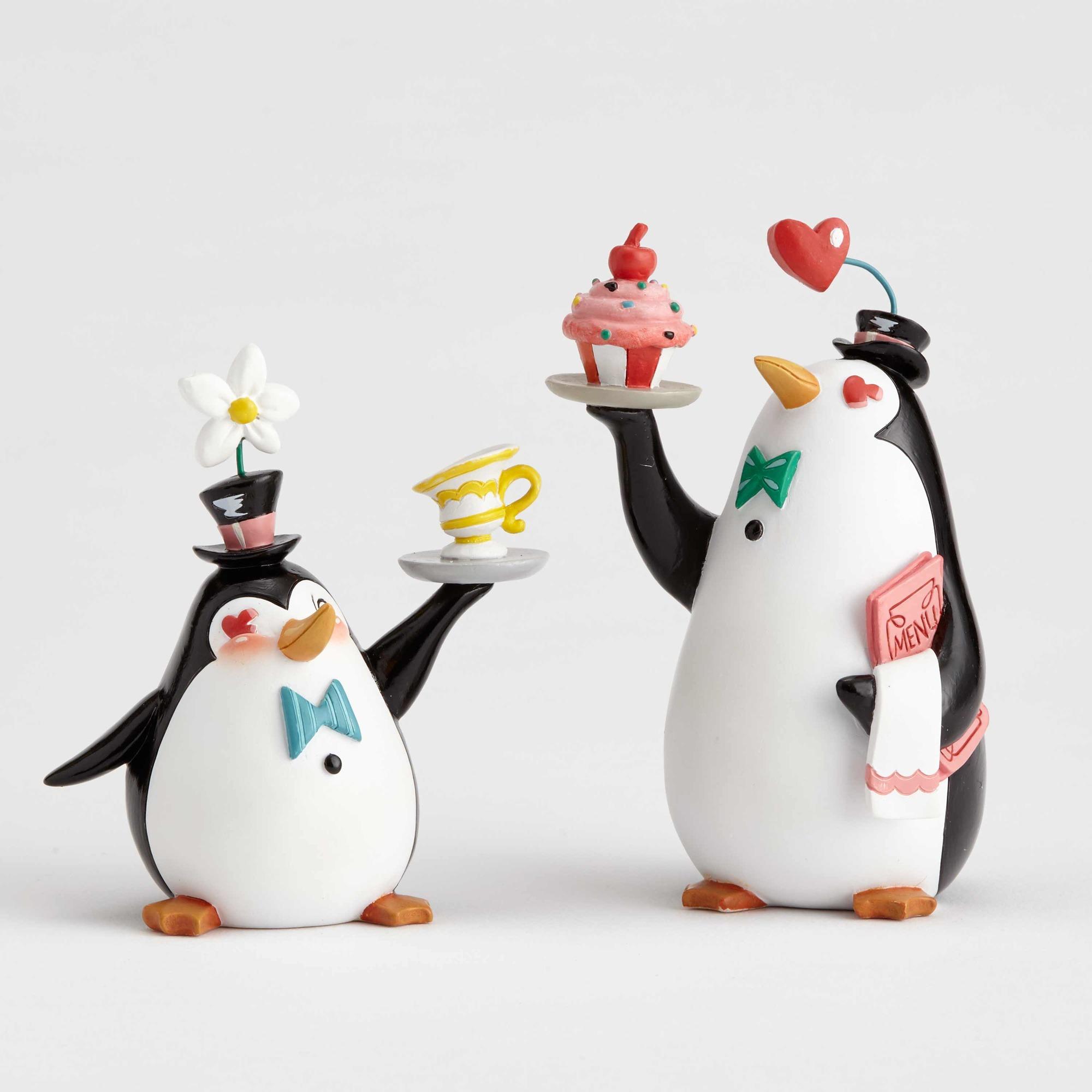 Penguin Waiters Set