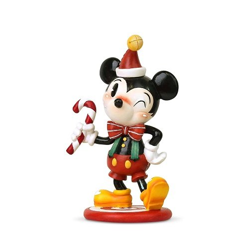 Christmas Mickey Mouse Figure