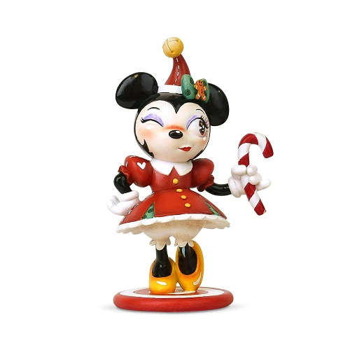 Christmas Minnie Mouse Figure