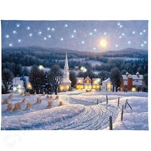 Winter Moonlight - 16 x 20