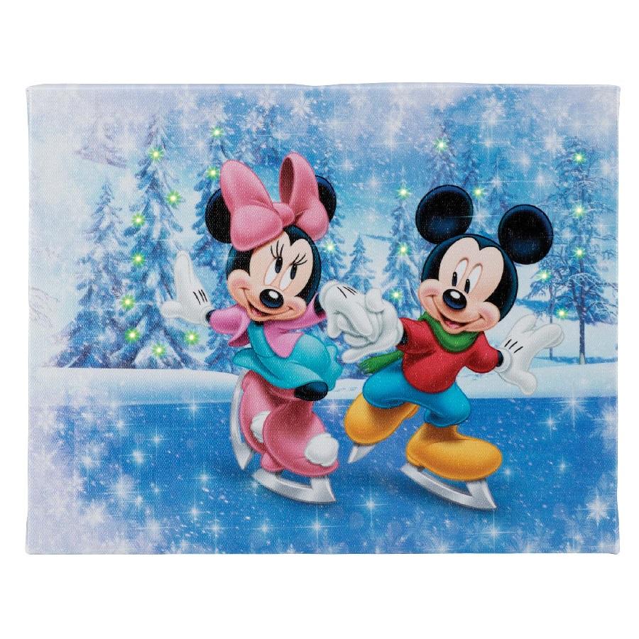 Winter Wonderland - 8x10 Disney Illuminart with Easel