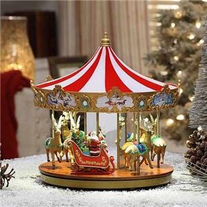 Mr Christmas Carousel.Very Merry Carousel