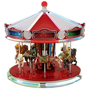 Mr Christmas Carousel.1939 Worlds Fair Carousel