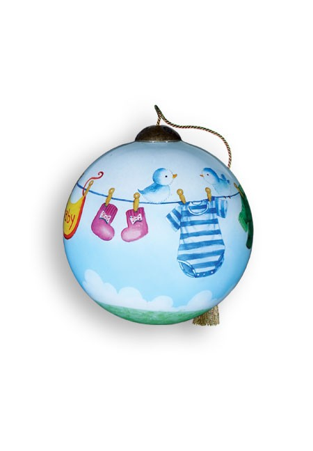 Booties, Bibs and Britches Ornament