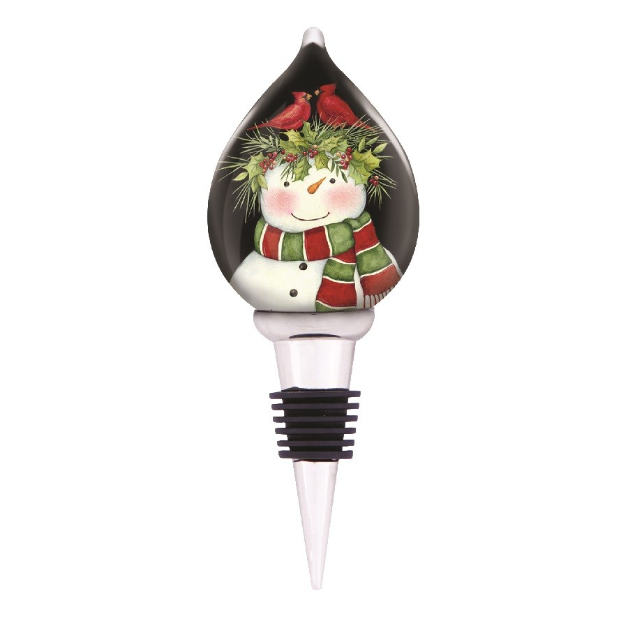 Frosty's Friends Wine Stopper