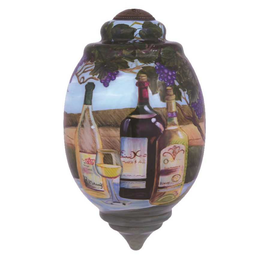 Vineyard Wine Tasting Hanging Ornament
