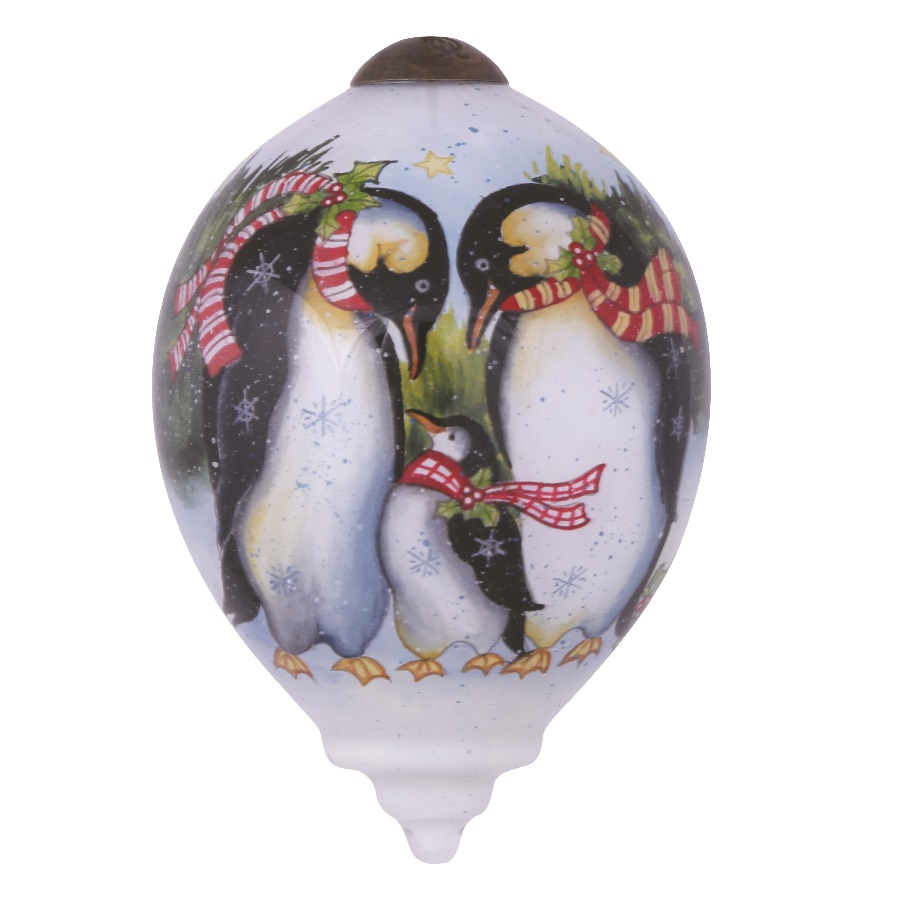 Penguin Holiday Hanging Ornament
