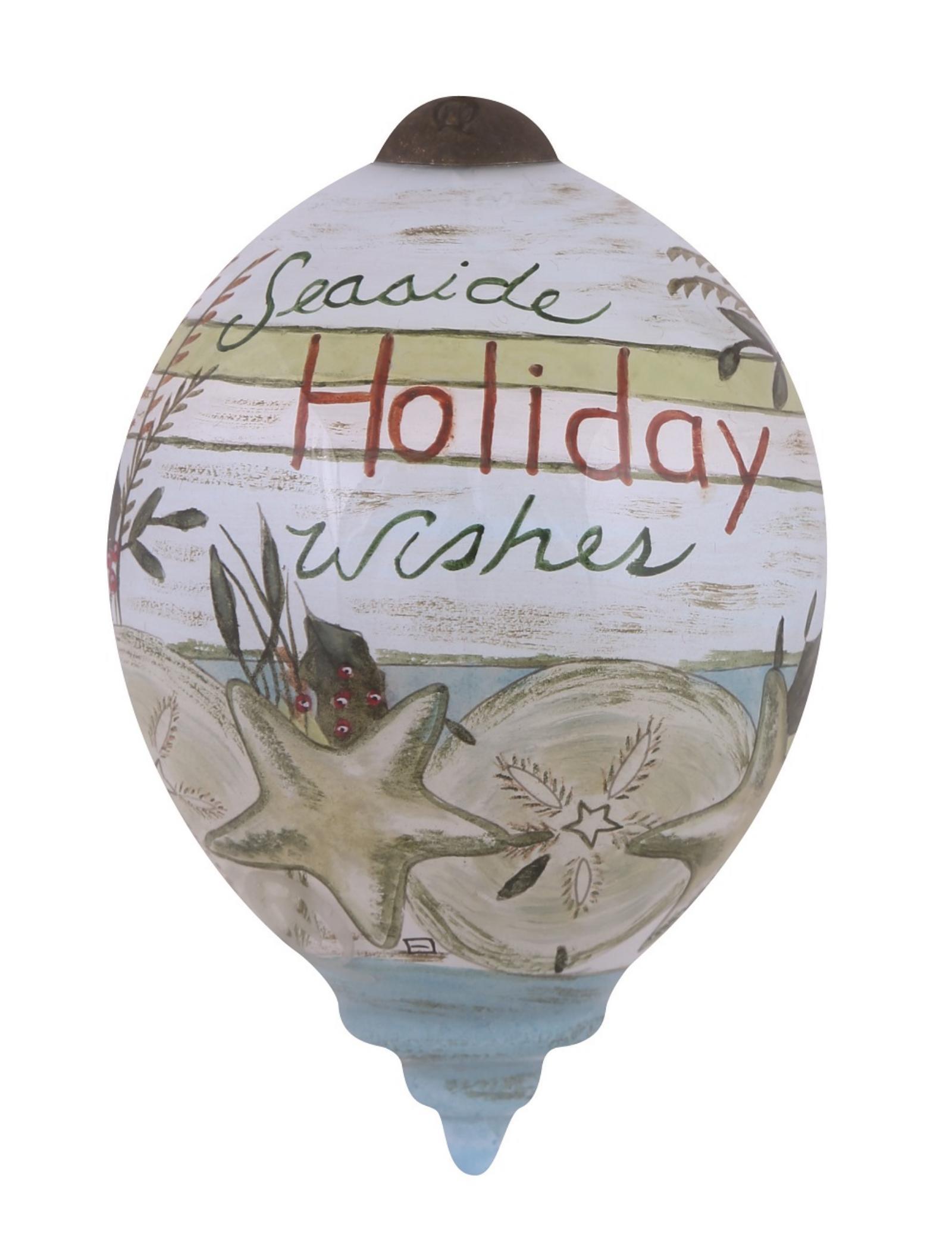 Seaside Holiday Wishes