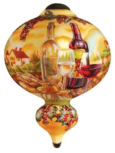 Tuscan Vineyard Ornament