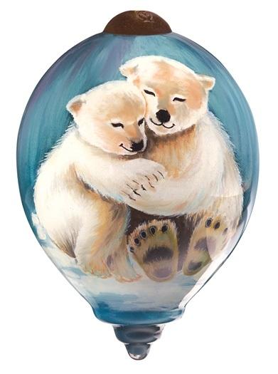 Artic Love Ornament