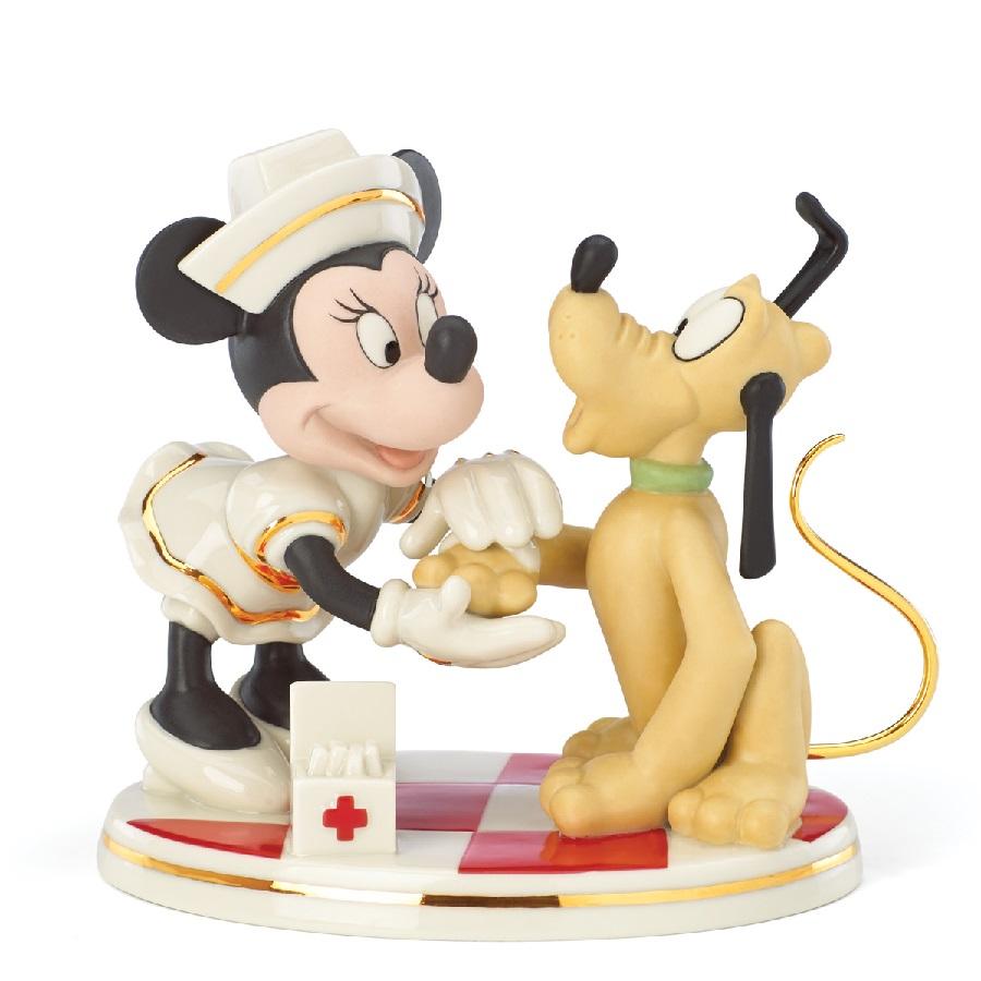 Nurse Minnie Mouse with Pluto