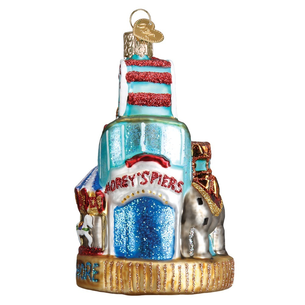 Christmas Lights Jersey: OLD WORLD CHRISTMAS 20096 Jersey Shore Ornament