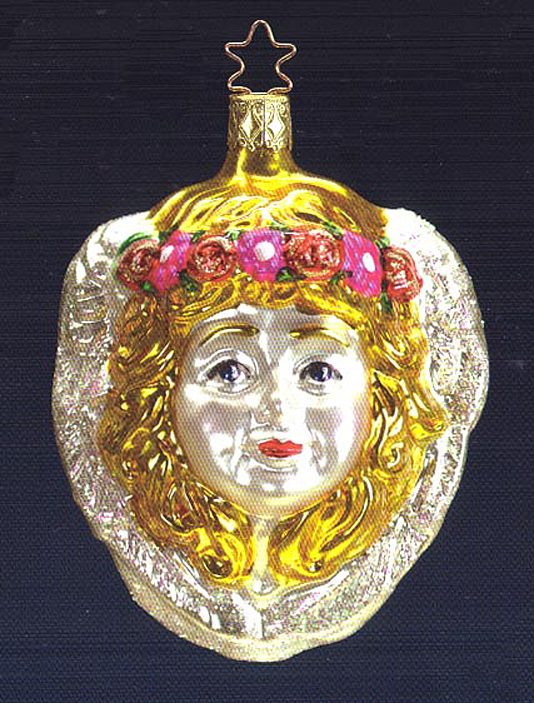 Gloria Glass Ornament