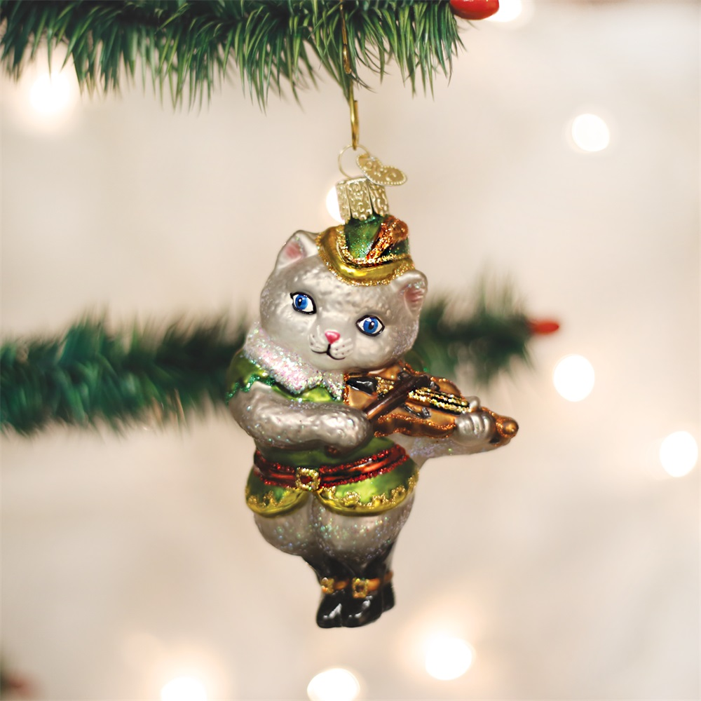 Cat and The Fiddle Ornament