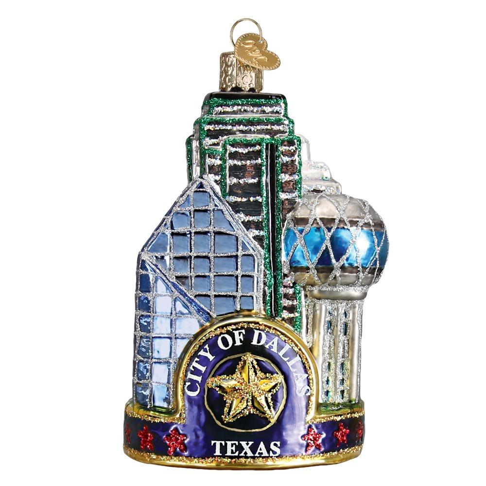 Dallas City Ornament