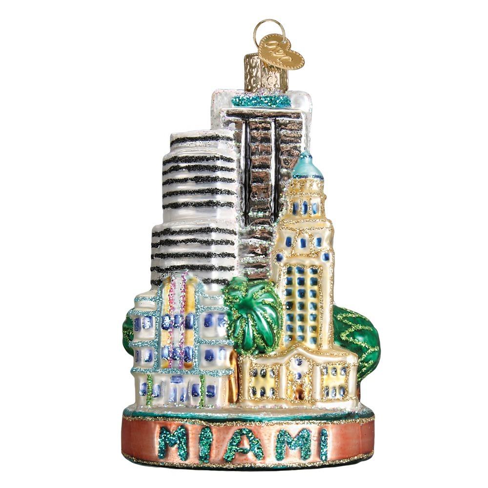 Miami City Ornament