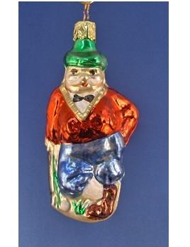 Duffer Glass Ornament