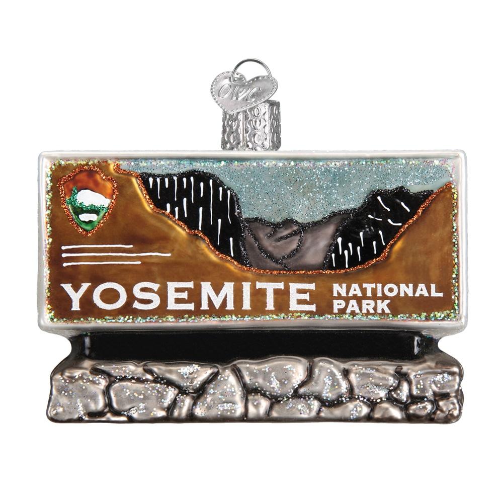 Yosemite National Park Ornaments