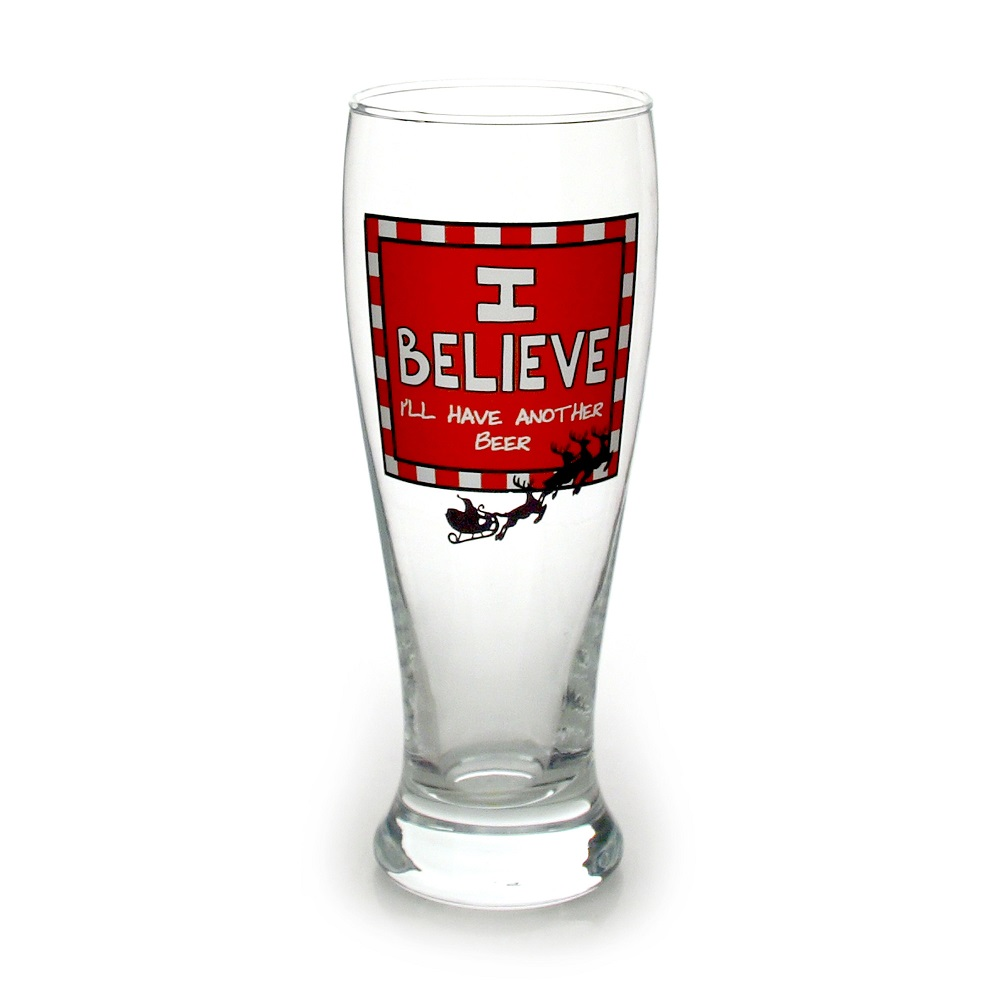 I Believe Glass Pilsner