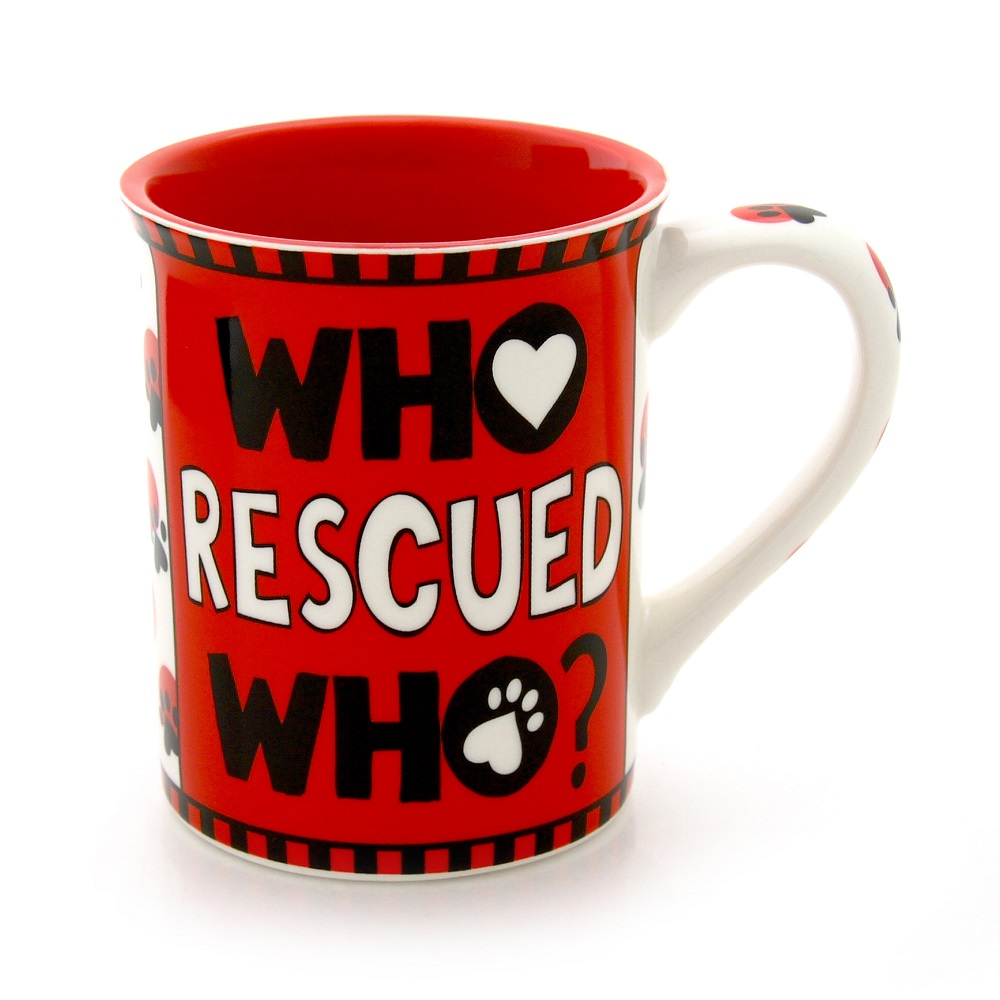 Who Rescued Who Mug