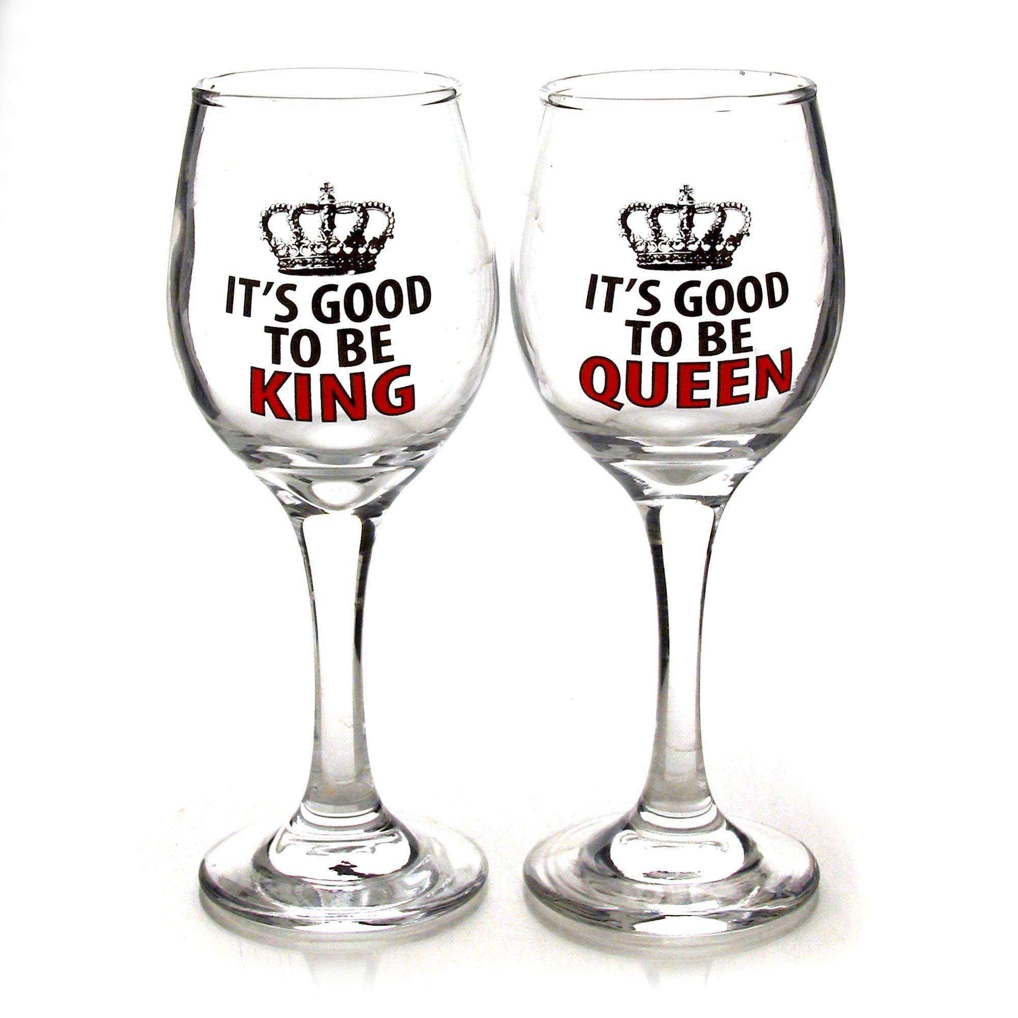 our name is mud 4050629 royal queen and king glass
