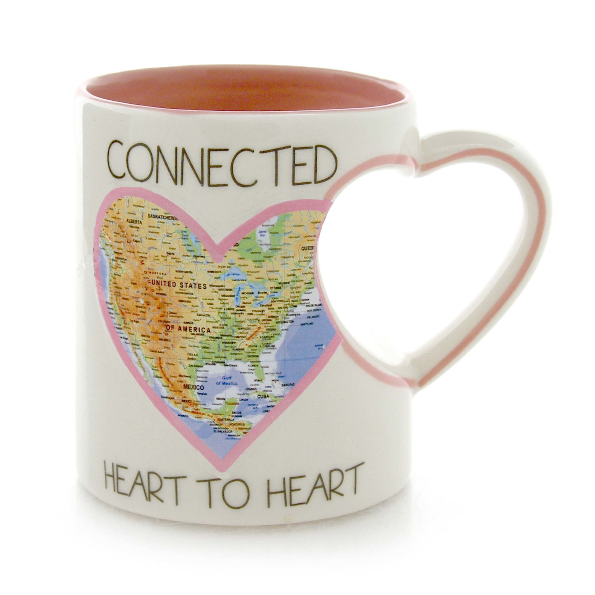 Connected Heart To Heart Mug