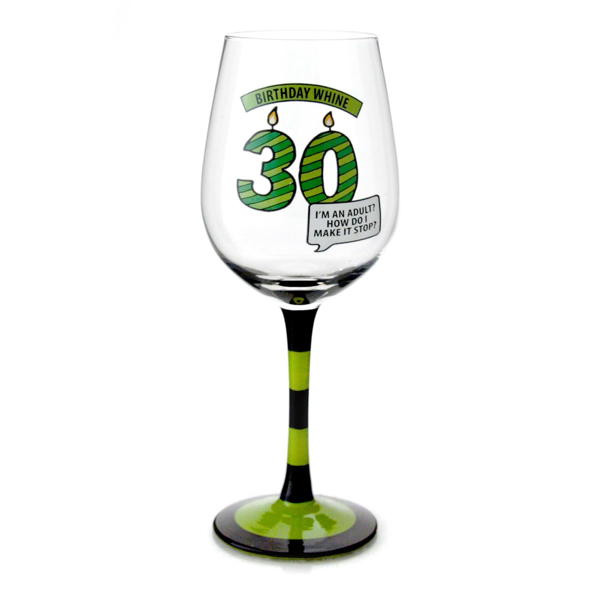 Goblet 30 - 30th Birthday Wine Glass
