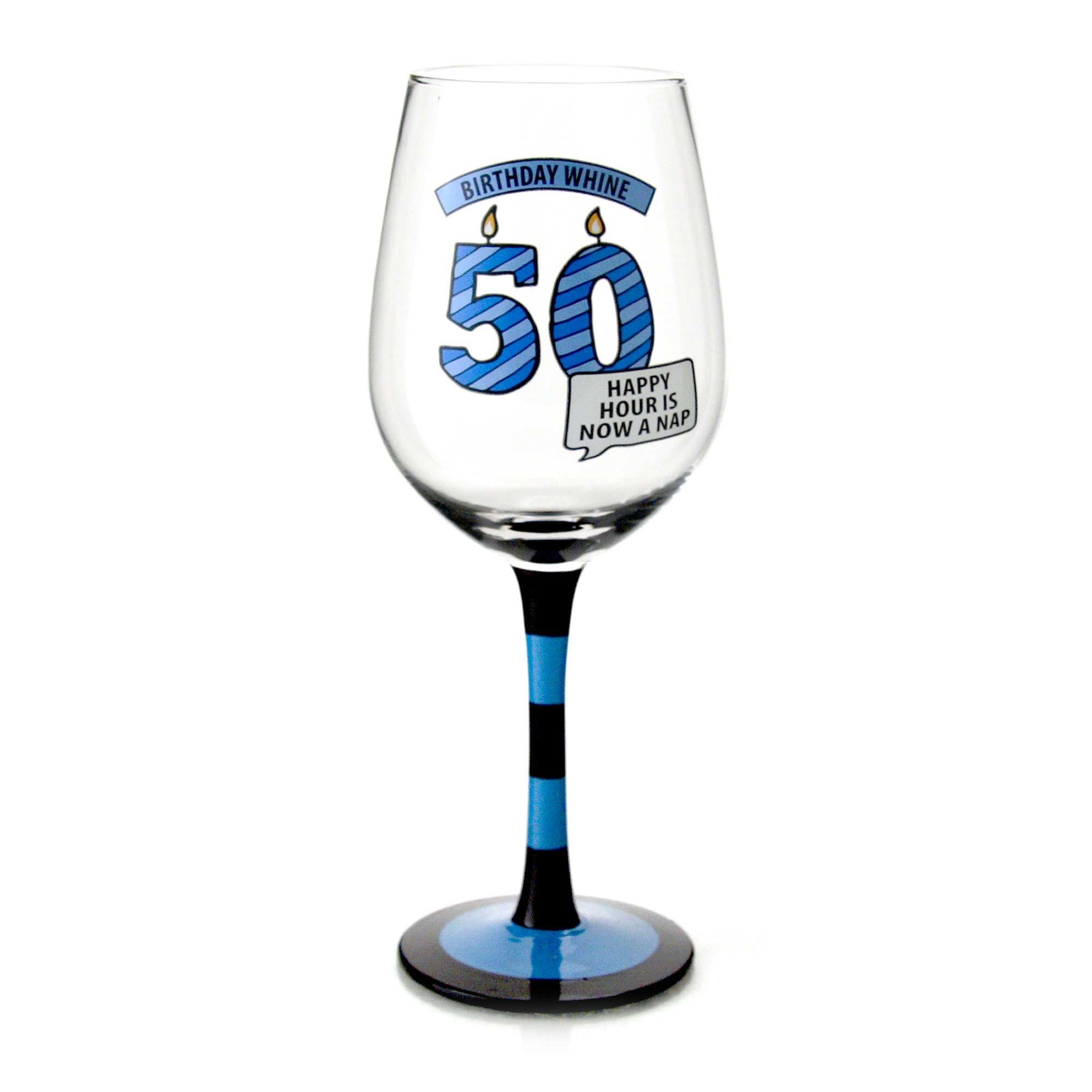 Goblet 50 - Birthday Wine Glass 50