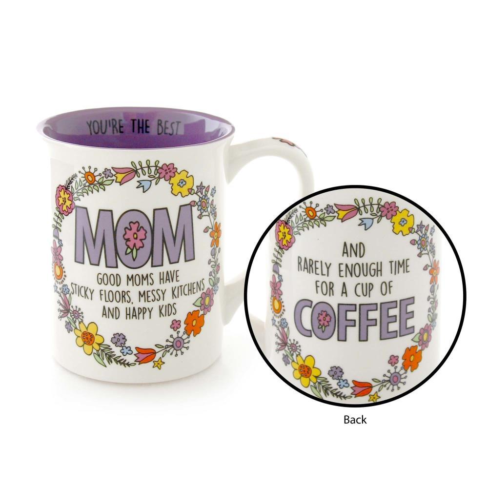 Mom Happy Kids Mug