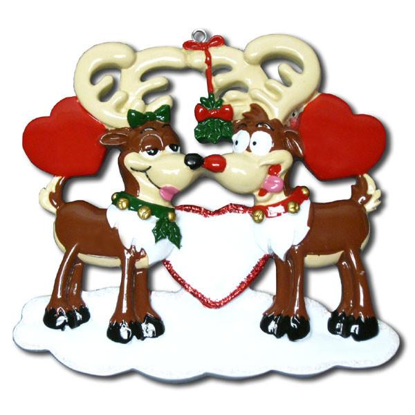 Reindeer Love Ornament