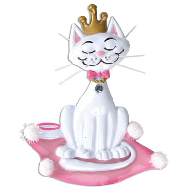 Kitty Princess Ornament - Personalizable