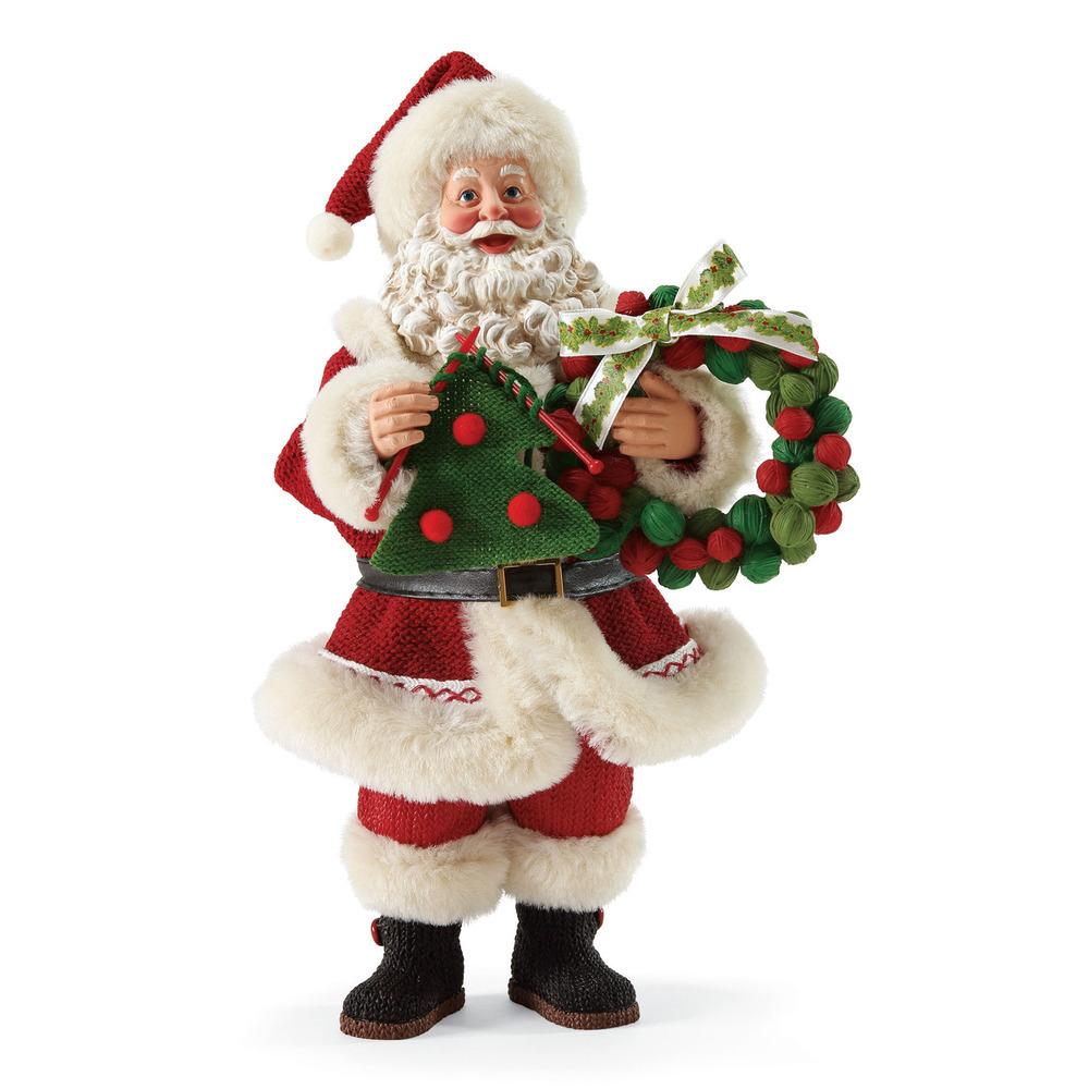 Santa Themed Christmas Tree