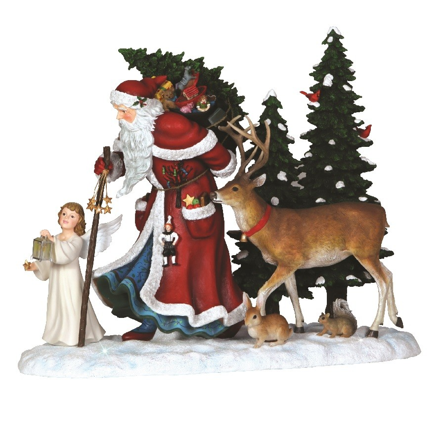 Deluxe Guiding Light Santa - Limited Edition