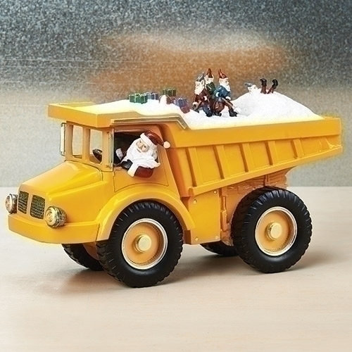 Musical LED Dump Truck With Elf