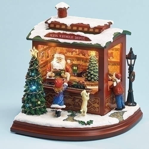 Roman 30038 Musical Led Santas Trainshop