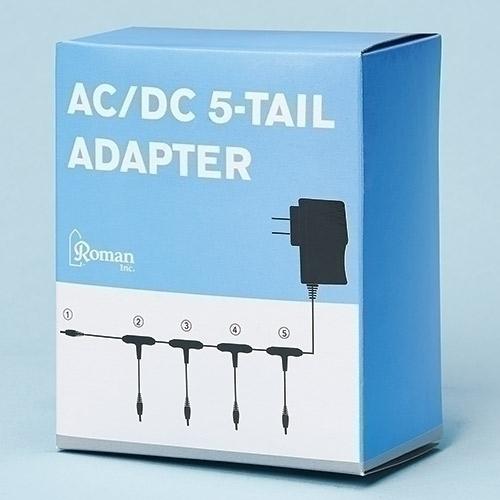 5 Plug Adapter