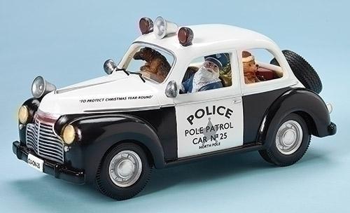 Police Car with Dog LED