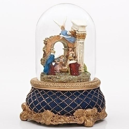 Nativity with Stone Wall