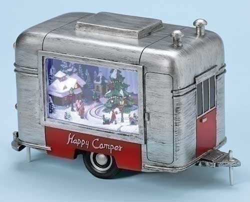 Musical LED Happy Camper Trailer - by Roman