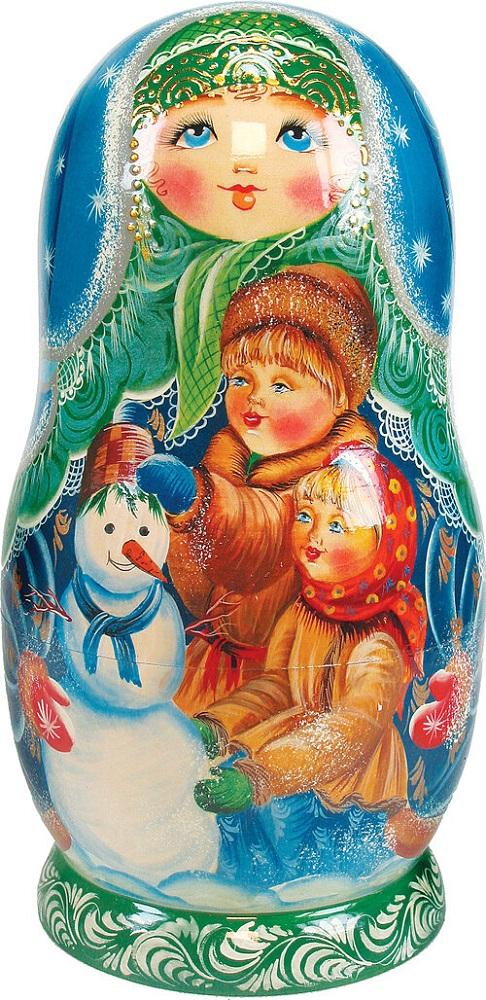 5N Build Snowman Nested Doll