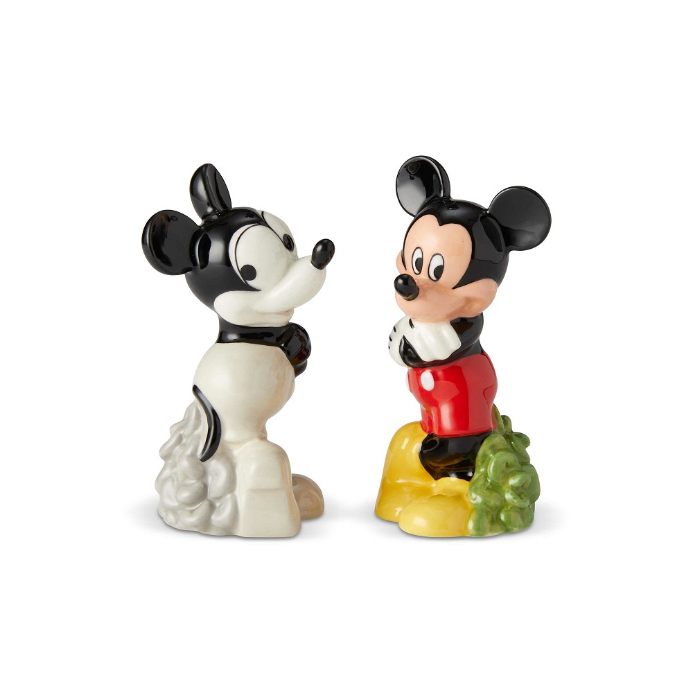 Mickey Then and Now Salt and Pepper Shakers