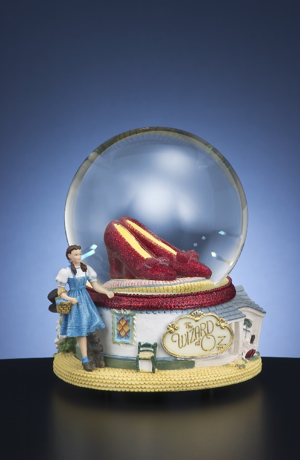Ruby Slippers 100mm Water Globe