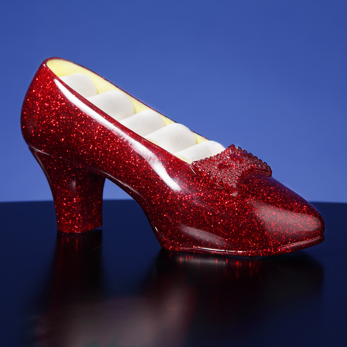 Ruby Slippers Musical Jewelry Holder