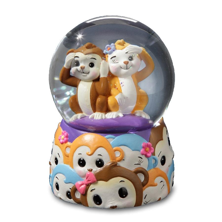 Jingle Jumbles - Monkey Water Globe