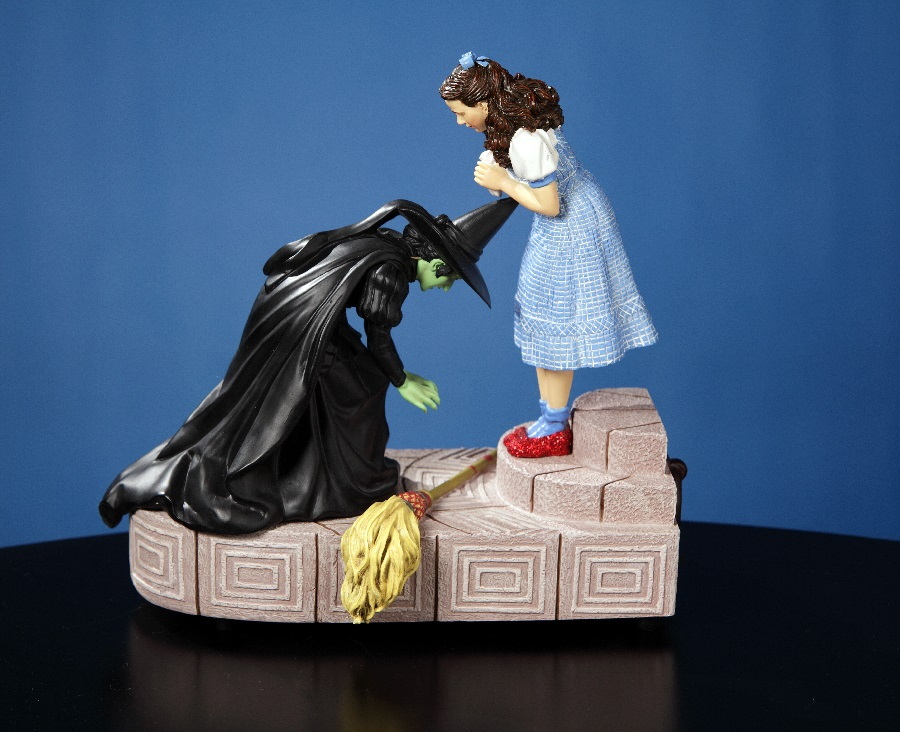 "Wicked Witch with Dorothy - ""Ruby Slippers"" Figurine - Limited Edition"