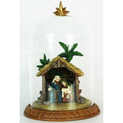 Glass Domed Holy Family