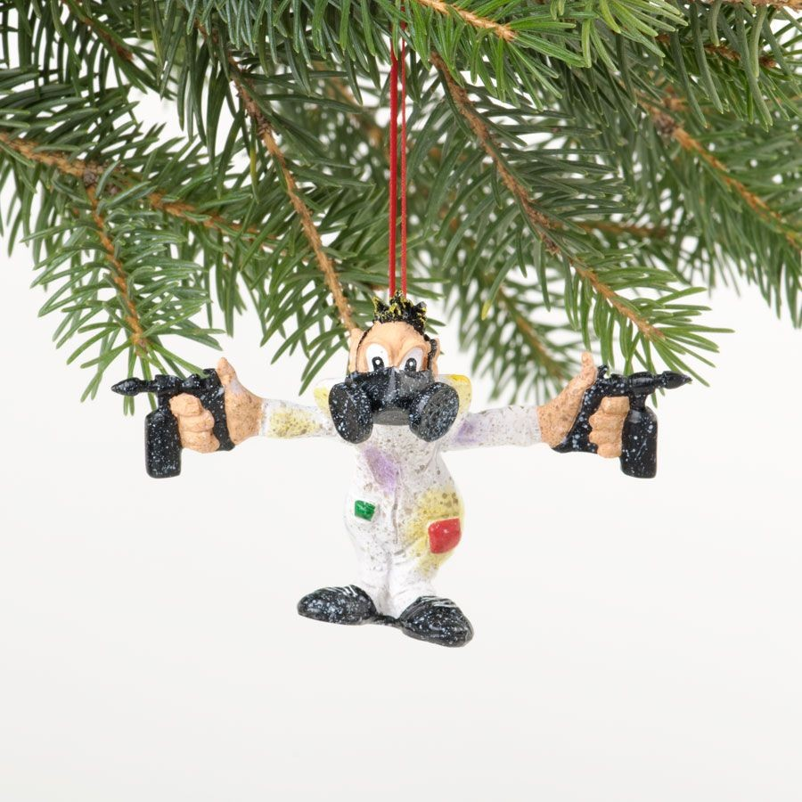 Solvent Sid Hanging Ornament