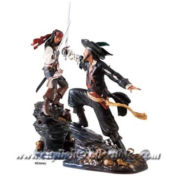 Captain Jack Sparrow - Swashbuckling Scoundrel